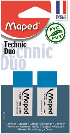 "Guma, kombinovaná, MAPED ""Technic Duo"""
