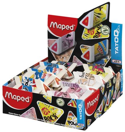 "Guma, displej, MAPED ""Pyramide"""