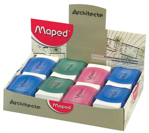 "Guma, displej, MAPED ""Architecte"""