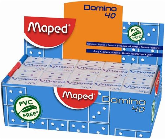 """Guma, displej, MAPED """"Domino 40"""""""
