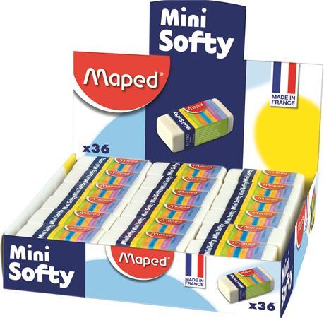 "Guma ""Mini Softy"", 36 ks/displej"