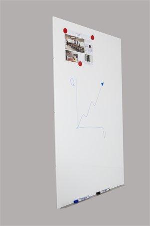 "Biela tabuľa, magnetická, 98x148 cm, bez rámu, ROCADA ""SkinBoard"""