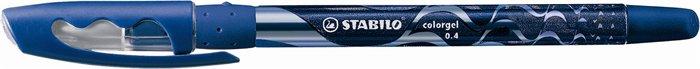 """Gélové pero, 0,4 mm, s uzáverom, STABILO """"Colorgel"""", modré"""