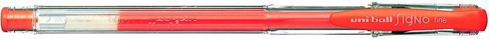 """Gélové pero """"UM-100"""", fluor oranžové"""