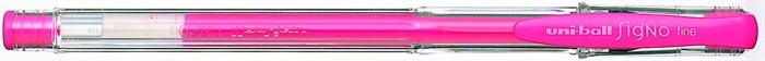 """Gélové pero """"UM-100"""", fluor ružové"""