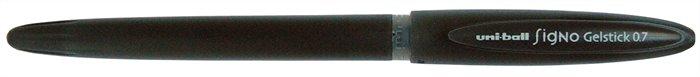 "Gélové pero, 0,4 mm, s uzáverom, UNI ""UM-170"", čierne"