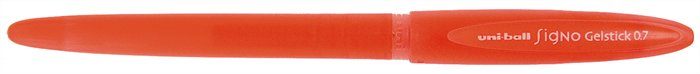 """Gélové pero, 0,4 mm, s uzáverom, UNI """"UM-170"""", červené"""