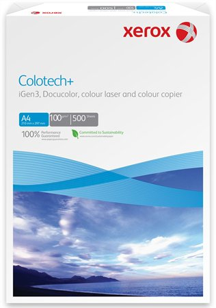 """Kancelársky papier """"Colotech"""", A/3, 100gr XEROX/500ks"""