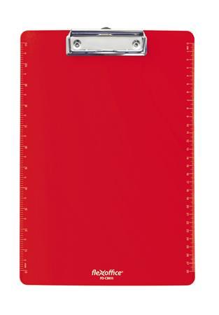 """Podložka na písanie, A4, FLEXOFFICE """"FO-CB011"""", červená"""