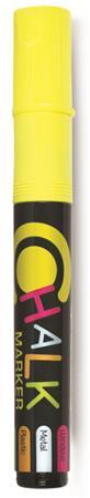 """Kriedový popisovač, 2,5 mm, FLEXOFFICE """"Chalkmarker"""", žltý"""