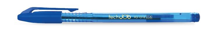 "Guľôčkové pero, 0,4 mm, s uzáverom,FLEXOFFICE ""TechJob"", modré"